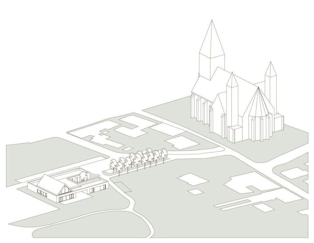 STM- Verbindung Kirche Gemeindezentrum