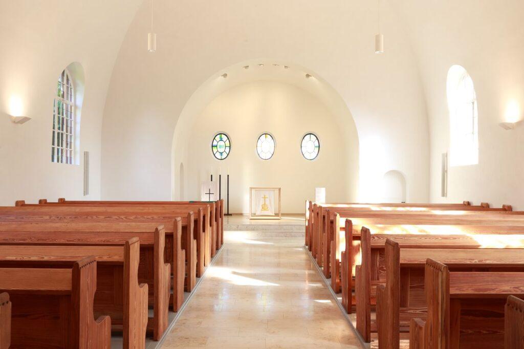 EVK-Blick zum Altarraum