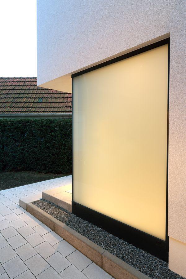 Verglasung Eingang