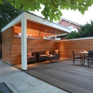 Neubau Gartenlaube in Neubeckum