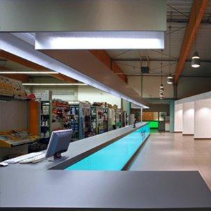 Showroom Elektrogroßhandlung Pallenberg Neubeckum