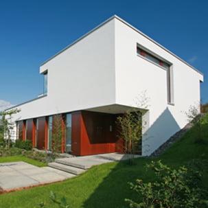 Neubau Wohnhaus am Hang